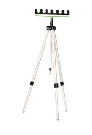 Тринога телескопічна для 6-ти вудилищ
