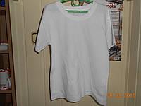Классическая белая футболка с коротким рукавом