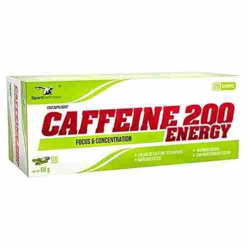 SPORTDEFINITION Caffeine 200 ENERGY120 caps