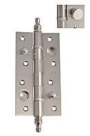 Петля дверная латунная Siba 2 BB 150*80*4мм CHP SN  никель матовый универсальная с противосрезами