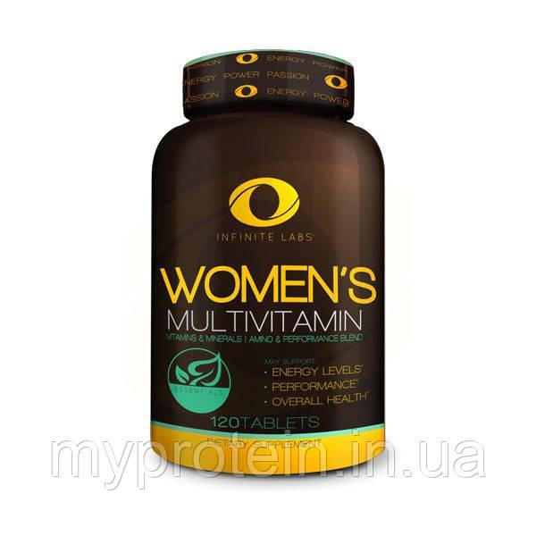 Infinite Labs Женские витамины Women's Multivitamin 60 serv (120 tab)