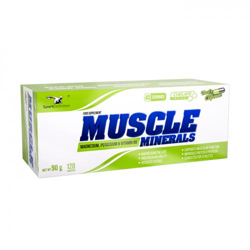 SPORTDEFINITION Muscle Minerals 120 caps