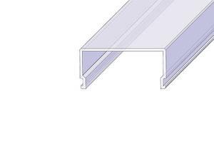 """Рассеиватель РСП """"Прямоугольный"""" матовый поликарбонат (за 1м) Код.57826"""