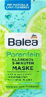 Очищающая маска для лица Balea Porenfein Klarende 3-Minuten, 2st. х 8 ml., фото 1