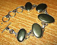 """Яркий браслет с пиритом """"Золото инков""""  от Студии  www.LadyStyle.Biz, фото 1"""