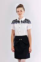 Школьная юбка черная 411-1