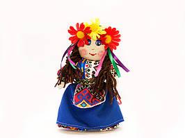 Кукла Украинка , малая девочка 15 -20 см.