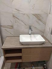 Столешница в ванную из акрила Marble Ocean M705, фото 3