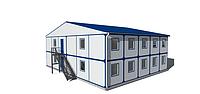 Модульные здания и дачные дома - Киев | Цена жилых блок модульных конструкций от производителя