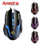 Игровая мышь Apedra A9 3200 DPI, фото 3