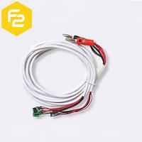 Тест-кабель питания для подключения iphone 5, 5S, 6, 6+ 7 к лабораторному блоку питания универсальный, SS-908A