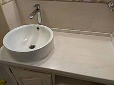 Столешница в ванную из акрила Marble Ocean M701, фото 2