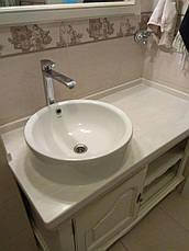 Столешница в ванную из акрила Marble Ocean M701, фото 3