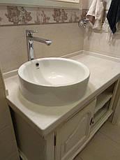 Стільниця у ванну з акрилу Marble Ocean M701, фото 3