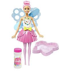 Кукла Барби с крыльями Волшебные мыльные пузыри / Dreamtopia Bubbletastic Fairy Doll