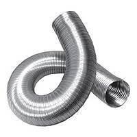 Воздуховод гибкий алюминиевый гофрированный, 80мкм, L 3м, D 120 мм, 12ВА
