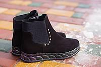 Замшевые женские ботинки Alamo 8-148 37,38,39 размеры, фото 1