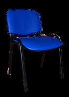 Офисный стул ISO black S-5132 винилискожа синий