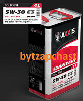 Масло моторное AXXIS 5W-30 C3 504/507 (Канистра 4л)