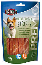 Лакомство PREMIO Cheese Chicken Stripes курица и сыр для собак
