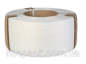 Лента полипропиленовая белая для упаковки и обвязки груза 16х1,0 мм