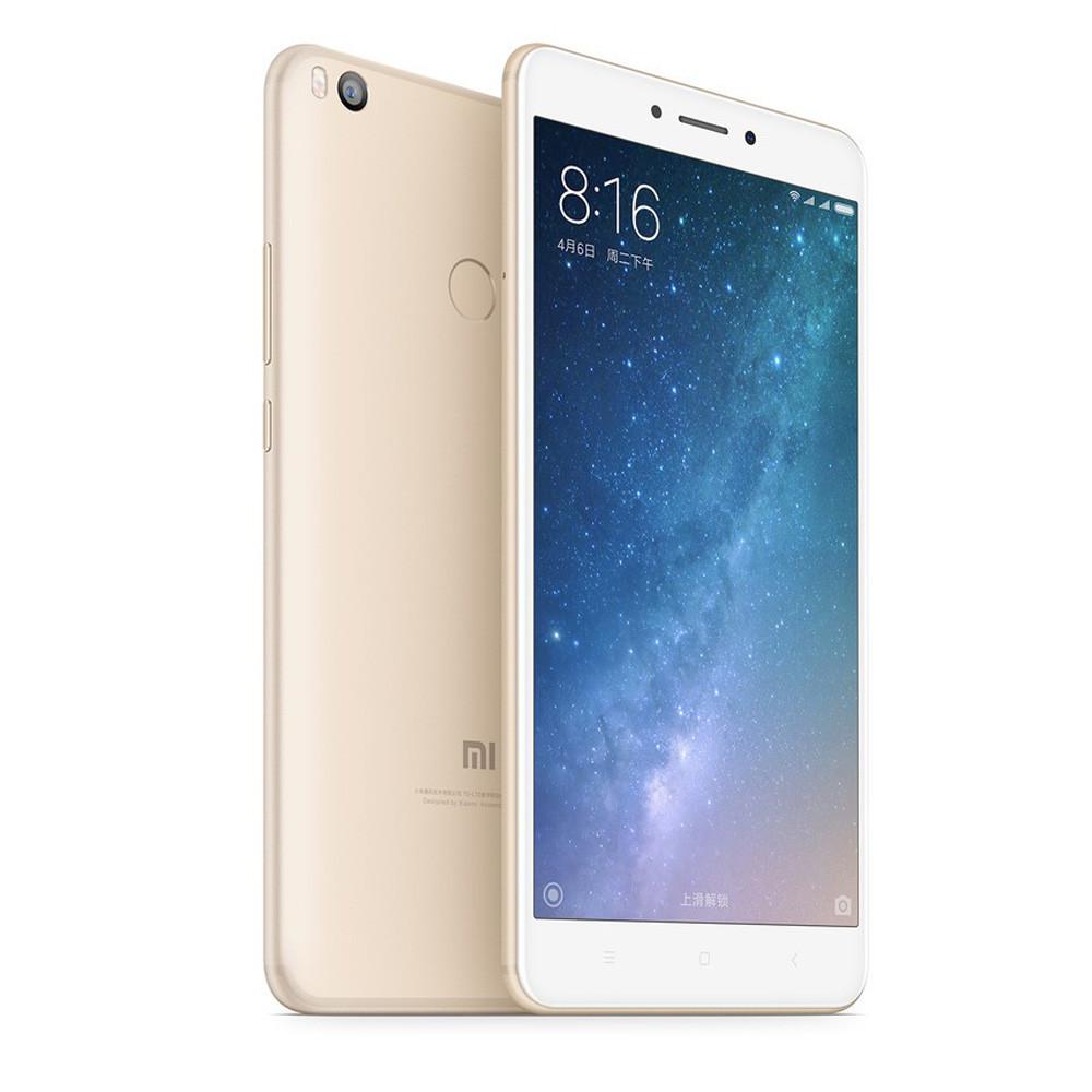 "Смартфон Xiaomi Mi Max 2 4/128Gb Gold, 8 ядер, 12/5Мп, 6.44"" IPS, 2 sim, 4G, 5300мАh"