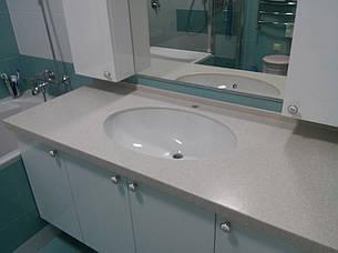 Столешница в ванную из акрила Tristone F106, фото 2
