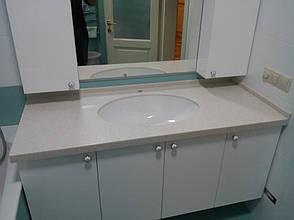 Столешница в ванную из акрила Tristone F106, фото 3