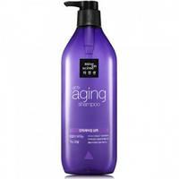 Антивозрастной шампунь для ослабленных и ломких волос Mise en Scene Aging Care Shampoo - 680 мл