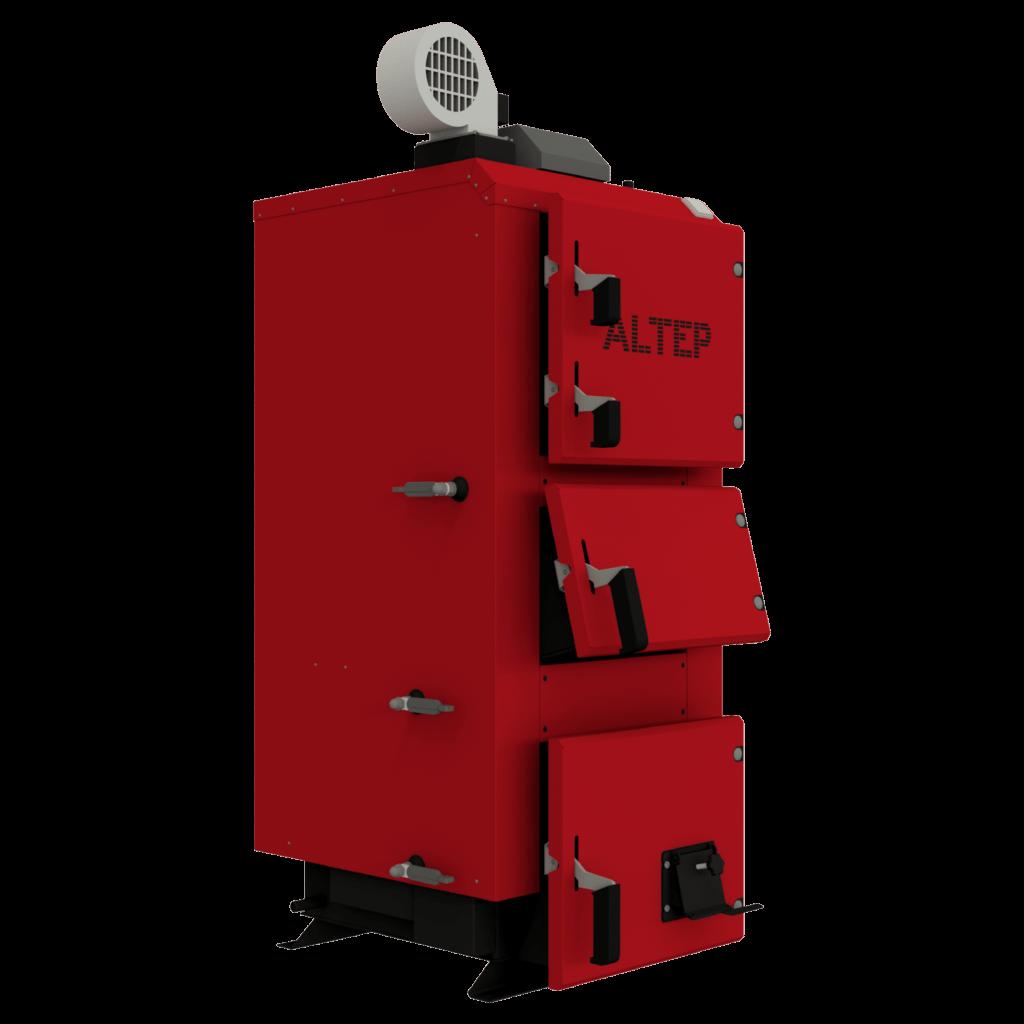 Промышленный твердотопливный котел длительного горения Альтеп DUO PLUS (КТ-2Е) 120 (Altep)