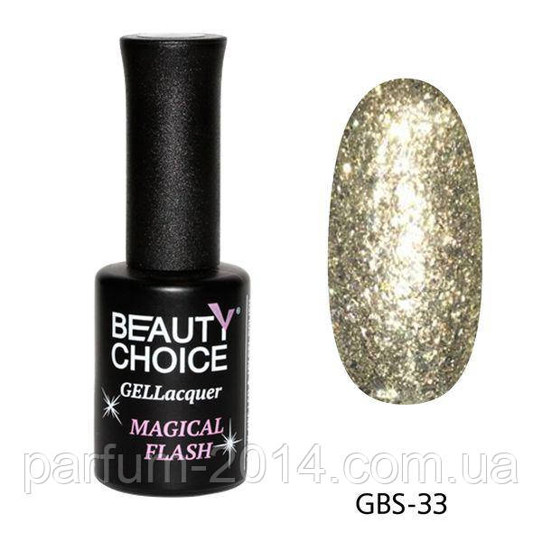 Гель-лак «Diamond» GBS-33, 10ml