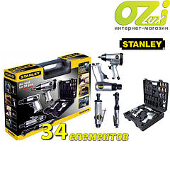 Пневматический набор из 34 инструментов Stanley XTSN