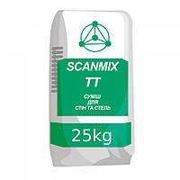 Шпаклевка фасадная Scanmix TT серая 25 кг