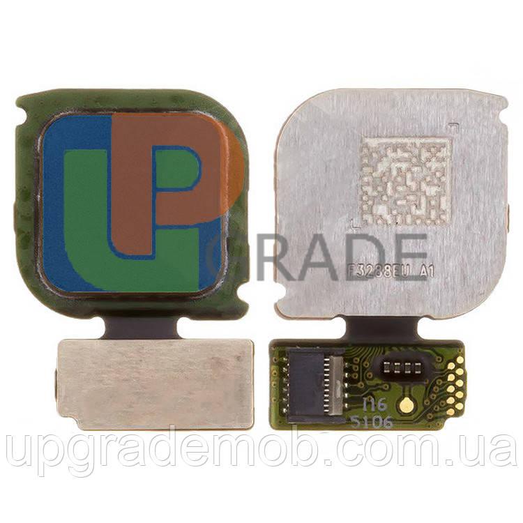 Шлейф Huawei P10 Lite (WAS-L21), с сканером отпечатка пальца, синего цвета