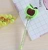 Мягкая плюшевая гелевая ручка яблоко, фото 3