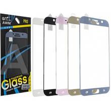 Защитное  3D  стекло Samsung A720 /gold