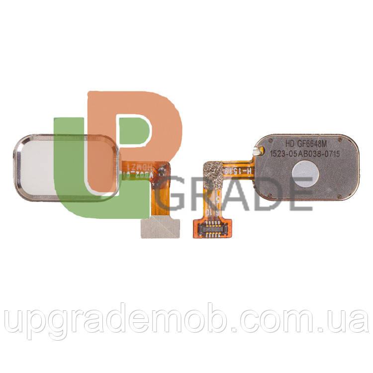 """Шлейф Meizu MX4 Pro M462 5.5"""", с кнопкой меню Home, белого цвета"""