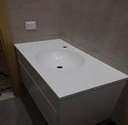 Столешница в ванную из акрила LG S034