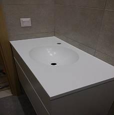 Стільниця у ванну з акрилу LG S034, фото 3