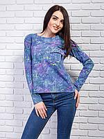 Кофточка-реглан  в полоску женская модная   42-48 р, доставка по Украине