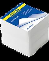 Блок білого паперу для нотаток 90х90х90мм, не склеєний