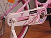 "Детский велосипед 20"" Crossride Vogue And Classic, фото 5"