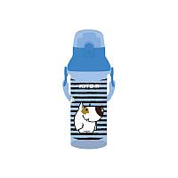 Пляшечка для води, 470 мл, блакитна  K18-403-04