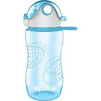 Пляшечка для води, 560 мл, блакитна  K18-402-04