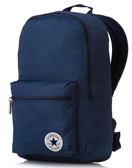 Молодёжный рюкзак Converse Core Poly Backpack 17 л. синий 10002651-410