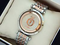 Женские комбинированные часы Pandora c буквой О и стразами, вращающийся циферблат, фото 1
