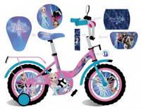 """Двухколесный детский велосипед MToys Frozen 18"""""""