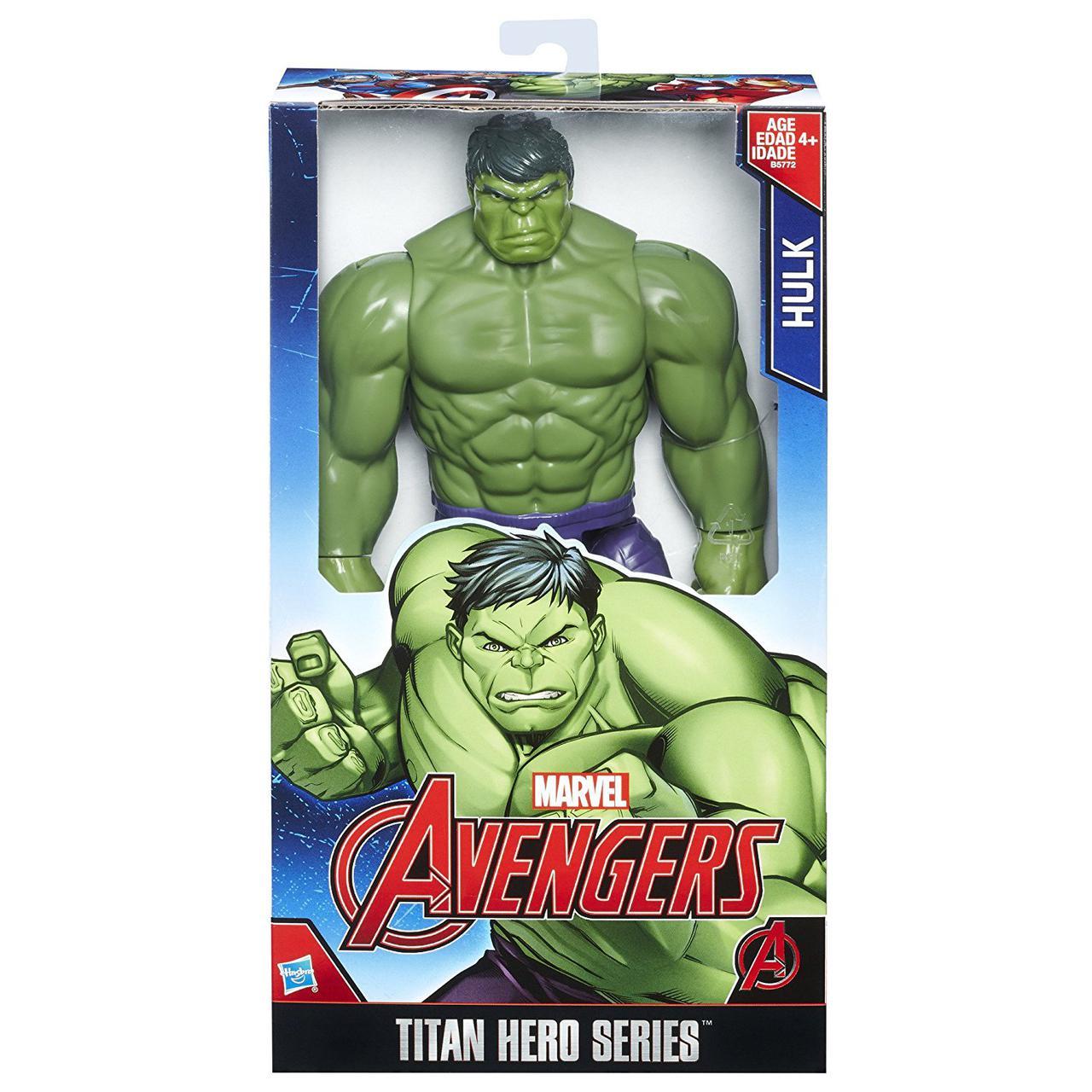 Халк фигурка супергероя Мстители от Хасбро/ Hulk Avengers Marvel Hasbro
