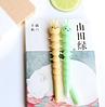 Шариковая гелевая ручка зеленая гусеница, фото 2