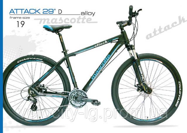 a9aaaf540299 Велосипед Mascotte Attaсk 29